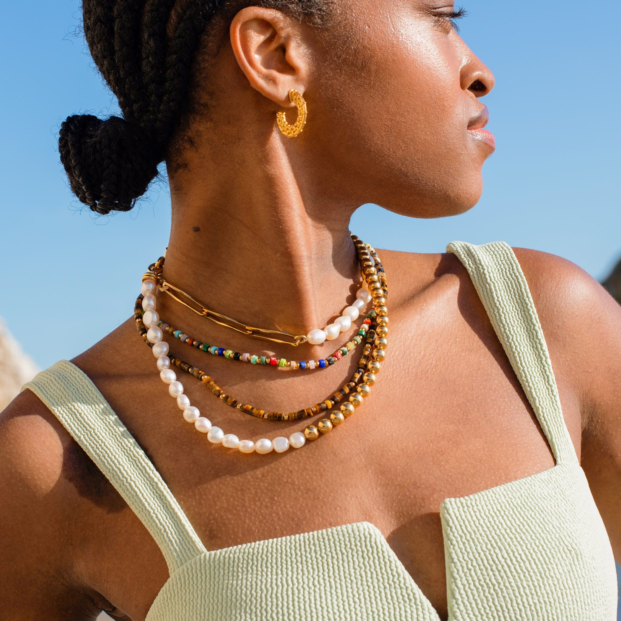 Shop The Maximalist Necklace Everyone's Wearing