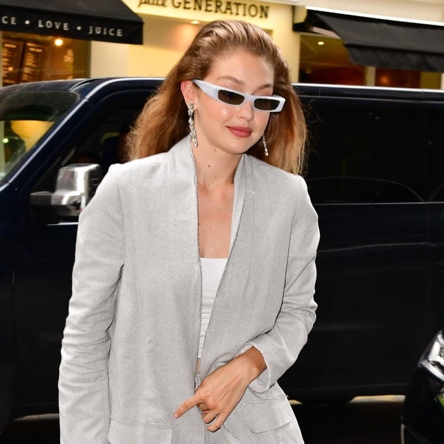Gigi Hadid's White Flats Are $99 — And You'll Wear Them Nonstop