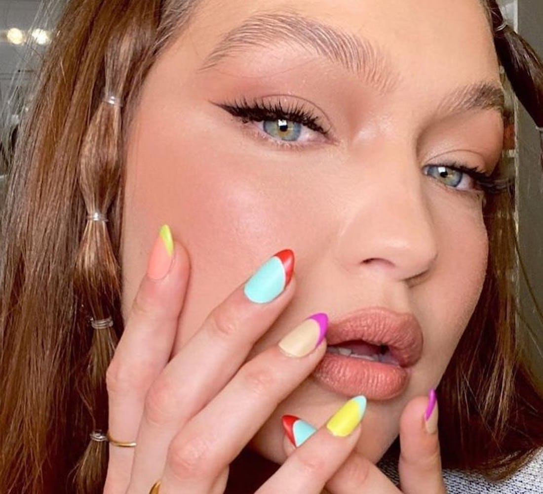 These Celebrity French Manicures Will Give You Years Of Nail Art Inspo